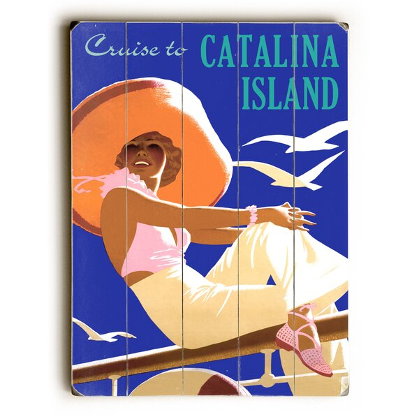 Cruise to Catalina Island Vintage Advertisement by Artehouse LLC