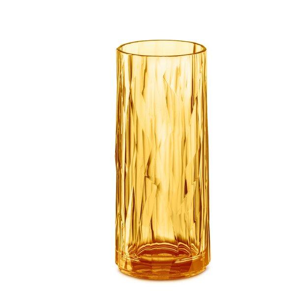Doleman 8 oz. Glass Highball Glasses (Set of 6) by Ivy Bronx