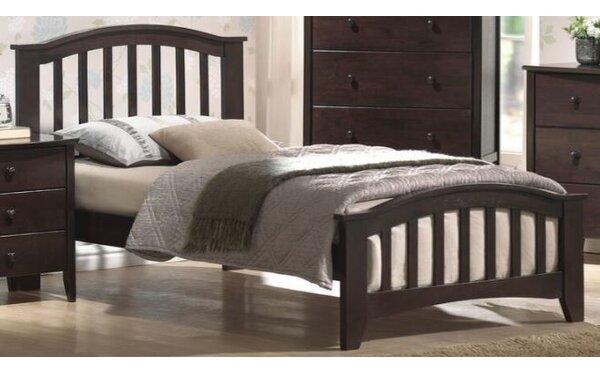 Wooden Platform Bed by Winston Porter