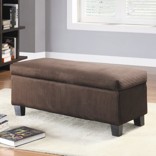 Lola New Fabric Storage Bench by Latitude Run