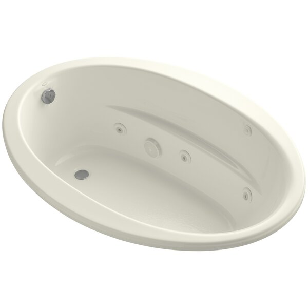 Alberry Sunward 60 x 42 Undermount Whirlpool Bathtub by Kohler