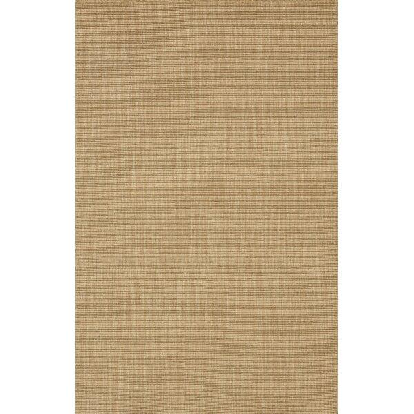 Dionne Sandstone Solid Rug by Bayou Breeze