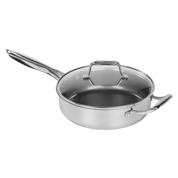 3-qt. Sauté Pan with Lid by MAKER Homeware™