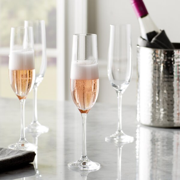 Steiger 18 Piece Wine & Champagne Glass Set by Red Barrel Studio