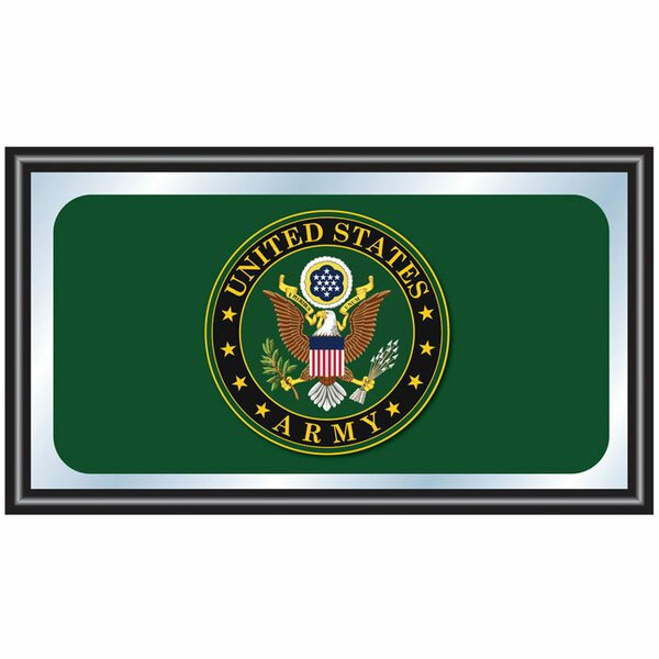 U.S Army Logo Framed Graphic Art by Trademark Global
