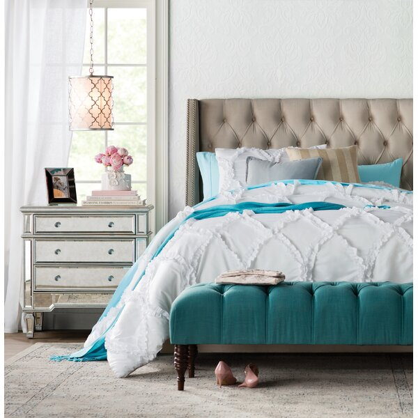 Upholstered Standard Bed by Feminine French Country