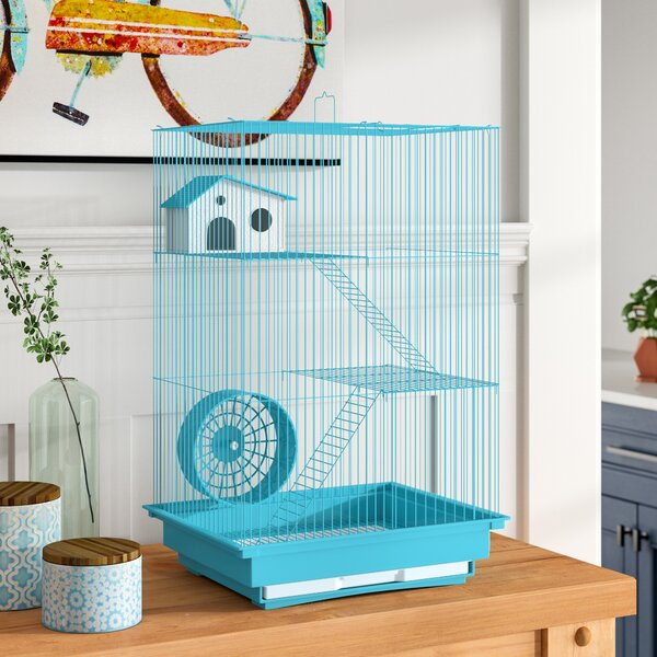 Crystal 3-Story Hamster/Gerbil Home-Mint Green by Archie & Oscar