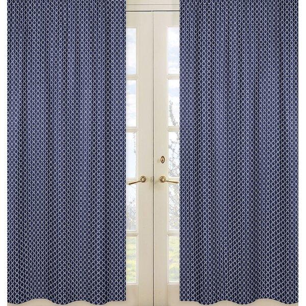 Arrow Hexagon Print Curtain Panels (Set of 2) by Sweet Jojo Designs