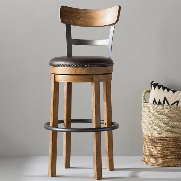Empire 30.25 Swivel Bar Stool by Trent Austin Desi
