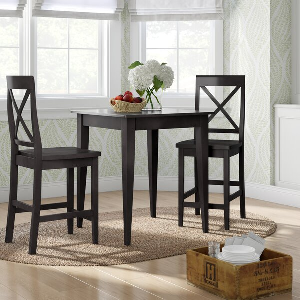 Haslingden 3 Piece Pub Table Set by Three Posts