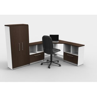 Liveva Executive Desk with Hutch