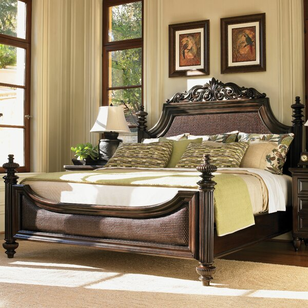 Royal Kahala Upholstered Panel Bed by Tommy Bahama Home