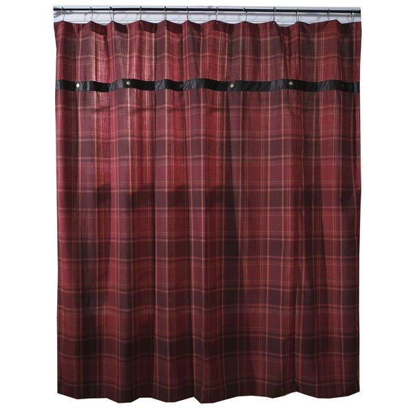 Arthurs Plaid Shower Curtain by Loon Peak