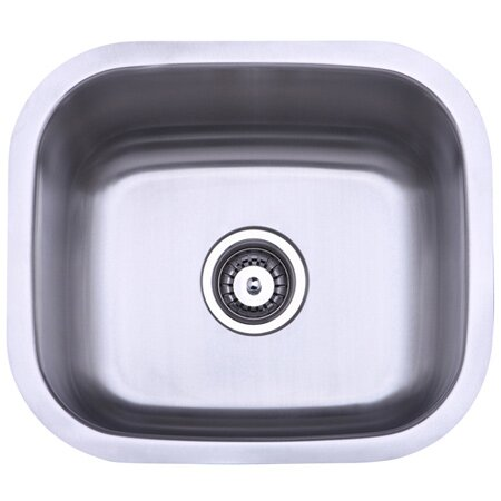 13.88 L x 13.5 W Undermount Single Bowl Kitchen Sink