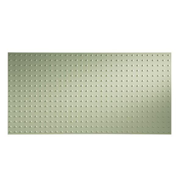 Dome 48 x 96 PVC Backsplash Panel in Fern by Fasade