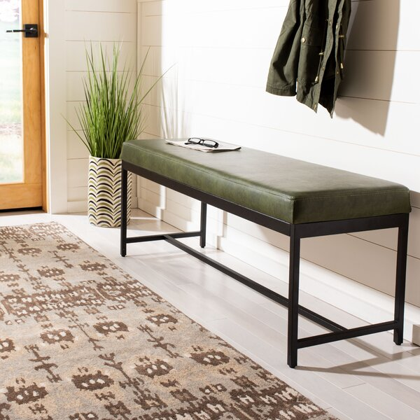 Aniyah Upholstered Bench by Williston Forge