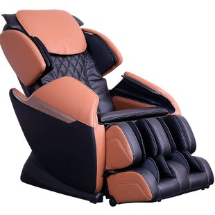 Reclining Full Body Heated Zero Gravity Massage Chair Latitude Run