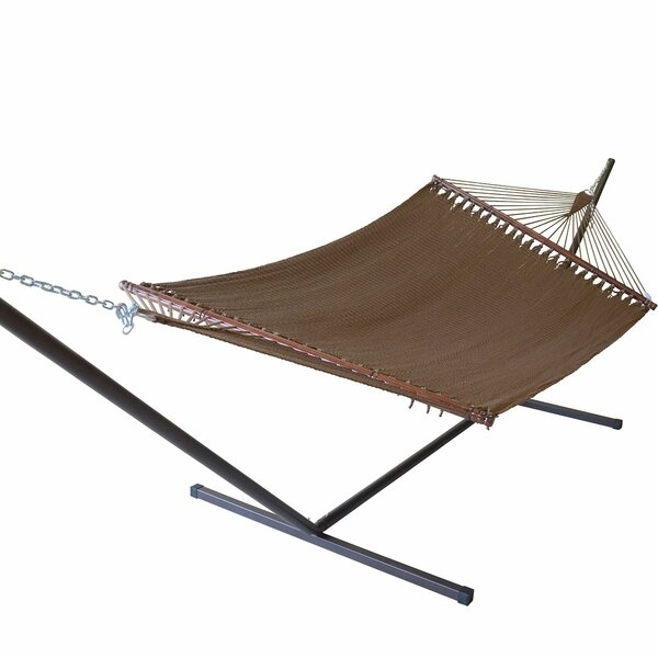 Caribbean Double Hammock with Stand by KW Hammocks