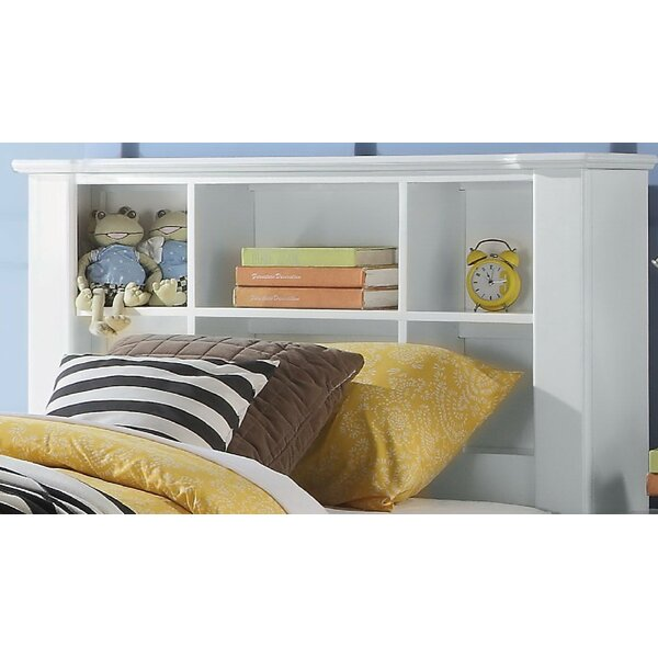 Chicago Platform Bed with Bookcase by Harriet Bee