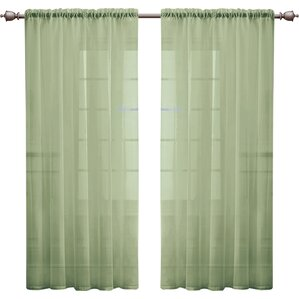 Kenton Solid Single Curtain Panel
