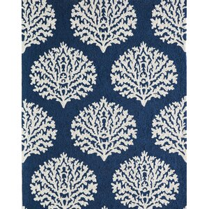 Cline Navy Indoor/Outdoor Area Rug