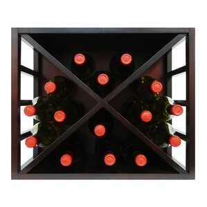 Stackable Diamond 15 Bottle Tabletop Wine Rack by Epicureanist