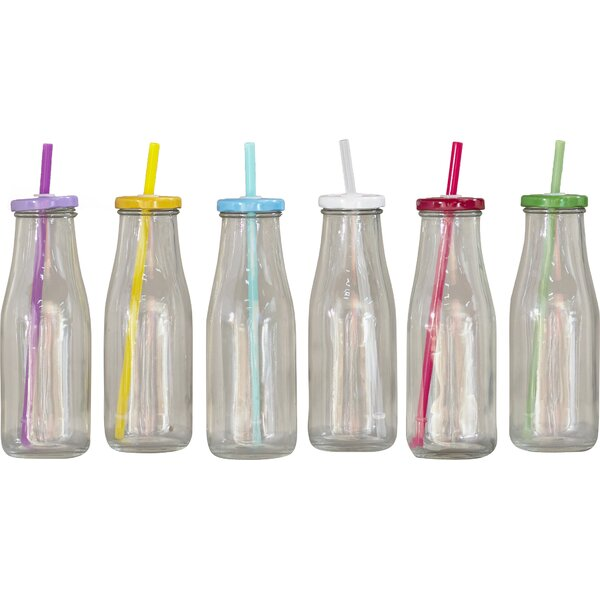 Fabian Milk Bottle (Set of 6) by Latitude Run