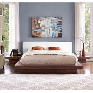 Rennan Queen Platform 3 Piece Bedroom Set ByWorld Menagerie