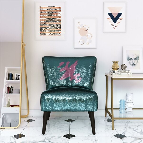 Mazzy Sequin Side Chair by Novogratz