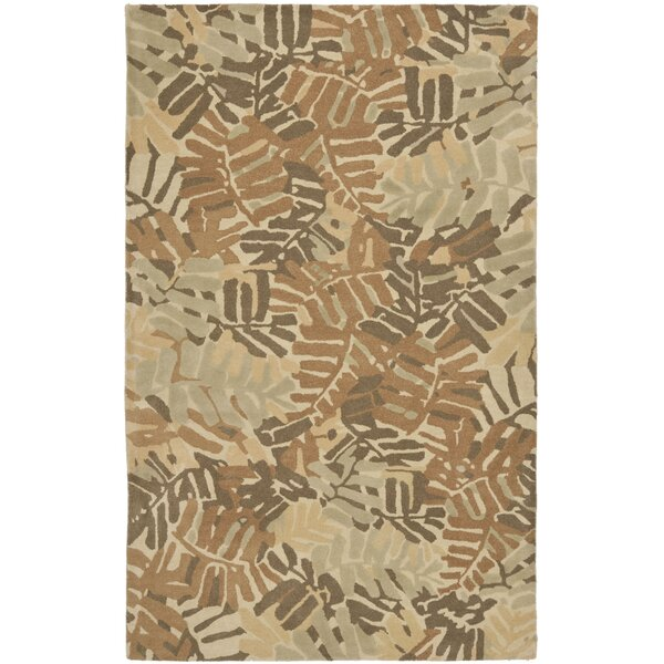 Palm Leaf Hand-Loomed Spud Area Rug by Martha Stewart Rugs