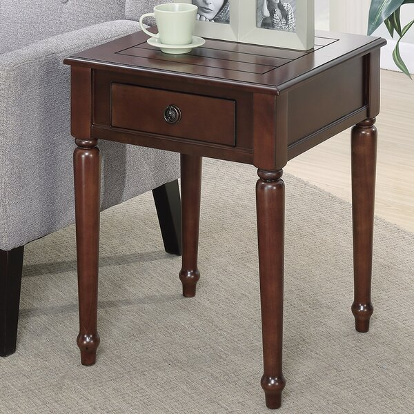 Widmer End Table by Charlton Home