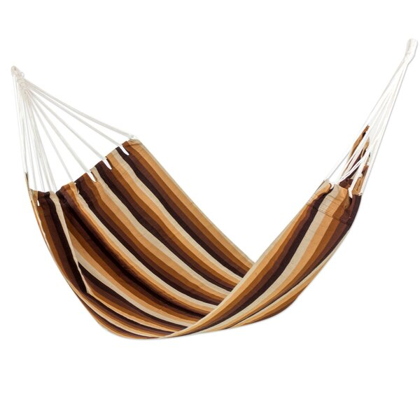 Guatemalan Single Polyester Tree Hammock by Novica Novica