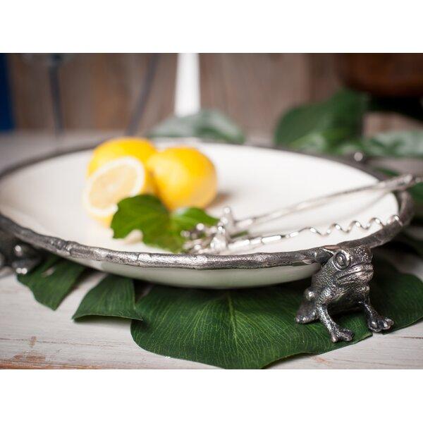 Woody Creek Oval Frog Platter by Abigails