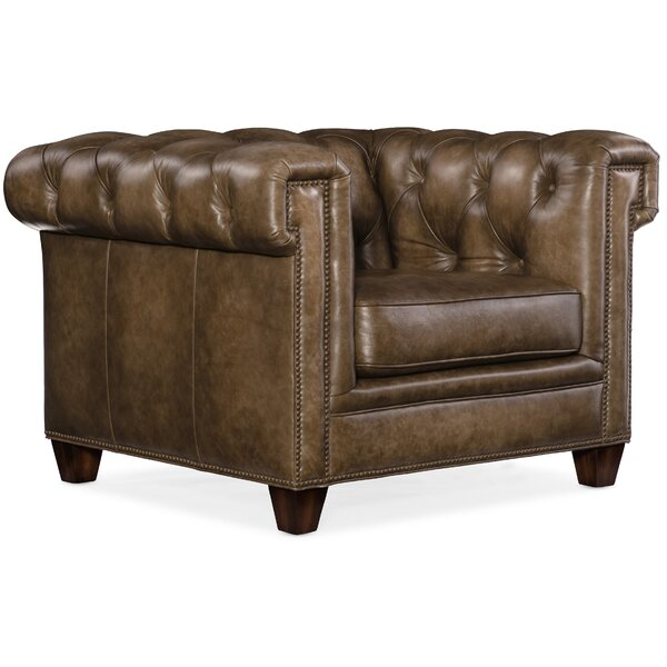 Chester Tufted Chesterfield Chair by Hooker Furniture