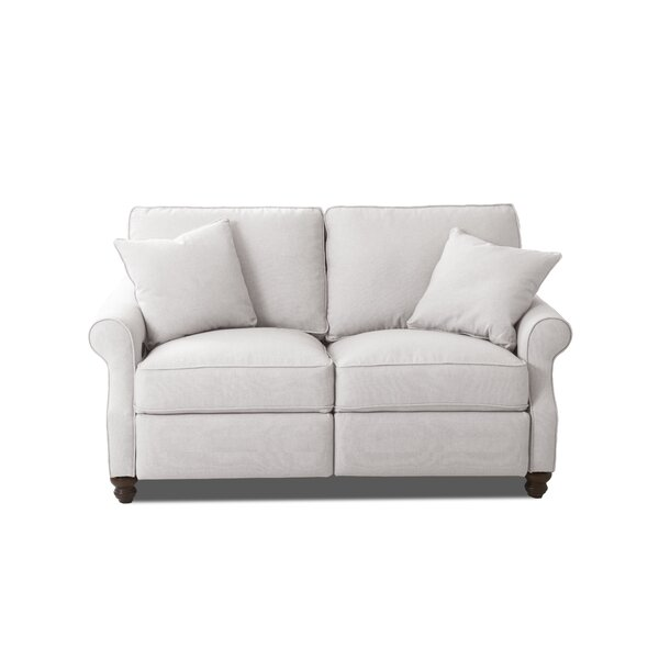 New Collection Doug Reclining Loveseat by Wayfair Custom Upholstery by Wayfair Custom Upholstery��