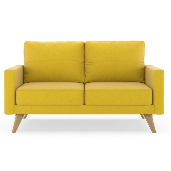 Cowell Oxford Weave Loveseat by Corrigan Studio