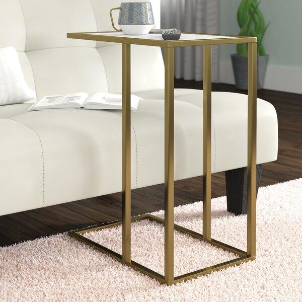 Jorgensen Asymmetrical Modern End Table By Brayden Studio