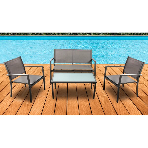 Woodcliff Lake 4 Piece Dining Set by Ostrich Chair