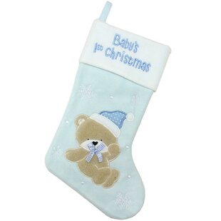 quickview - Blue Christmas Stocking