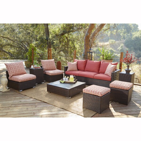 Mcmanis 8 Piece Sofa Seating with Cushions by Ivy Bronx