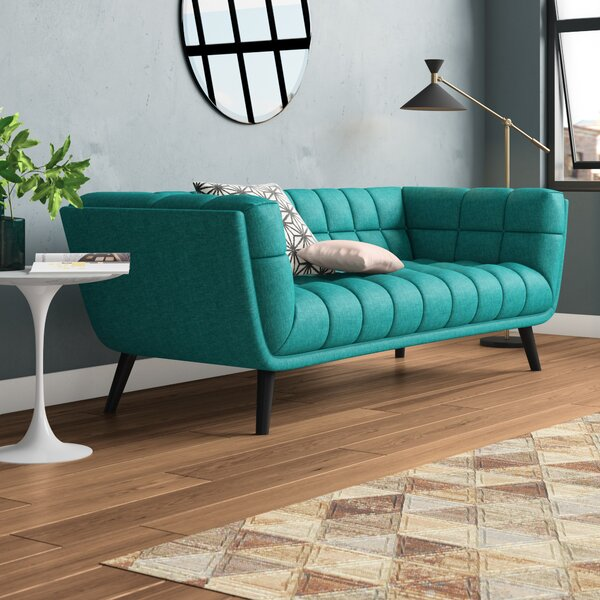 Seneca Upholstered Chesterfield Sofa by Brayden Studio