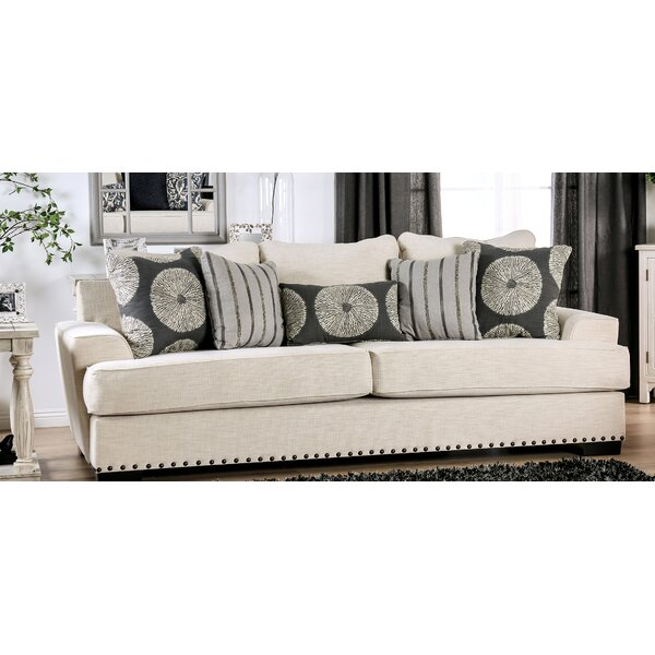 New Trendy Aisling T-Cushion Sofa by Longshore Tides by Longshore Tides