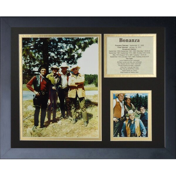 Bonanza Framed Memorabilia by Legends Never Die