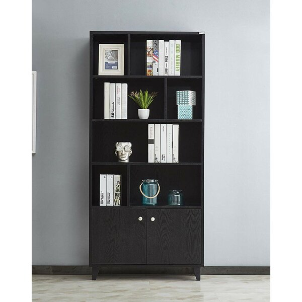 Rathore Geometric Bookcase By Ebern Designs