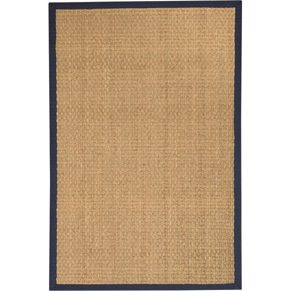 Maritime Handwoven Beige Area Rug by Natural Area Rugs