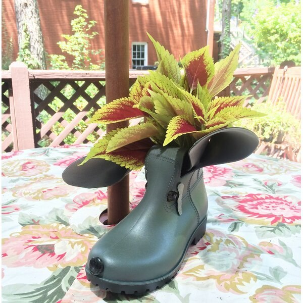 Boot Buddies Charlie Pot Planter by HomeStyles