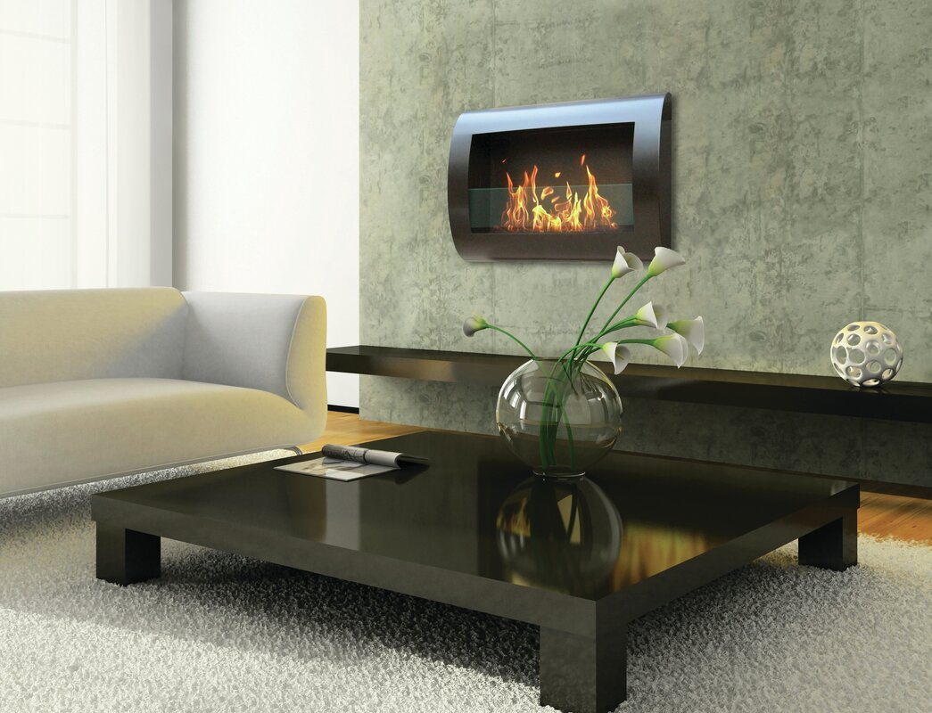 anywhere fireplace chelsea wall mount bioethanol fireplace  - defaultname