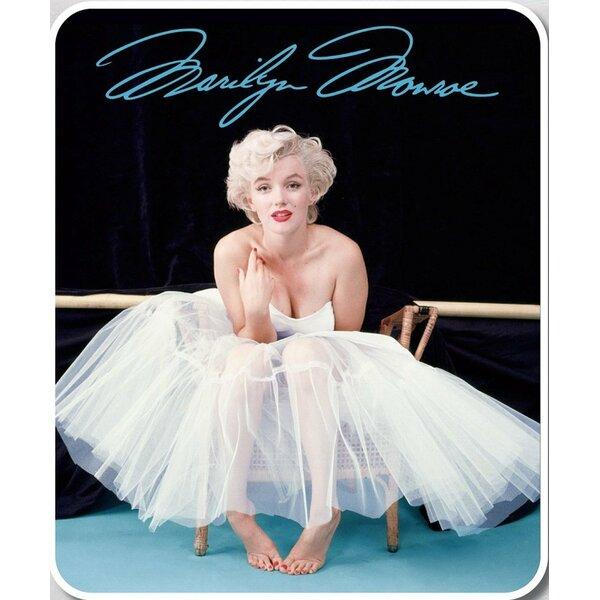 Herrman Marilyn Monroe Ballerina Plush Blanket by Red Barrel Studio