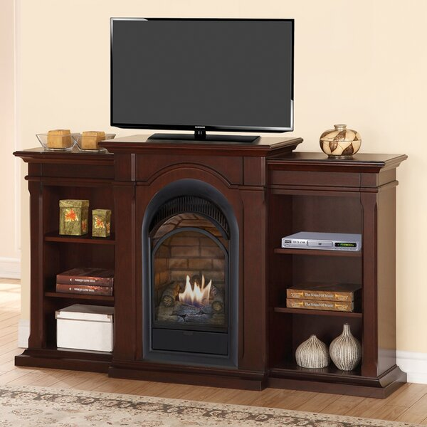 Duluth Forge 39 TV Stand with Natural Gas Fireplace by Duluth Forge