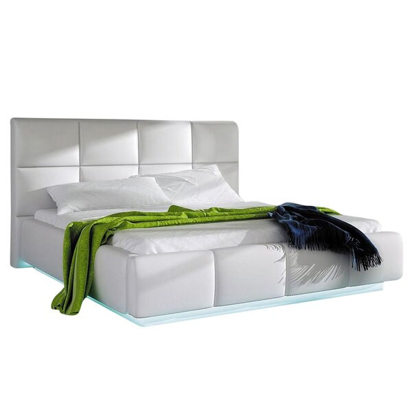 Boronda Upholstered Storage Platform Bed with Mattress by Orren Ellis